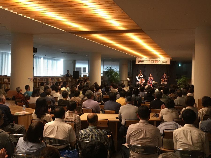 新潟県南魚沼市図書館二周年記念「平賀マリカ jazz live」_c0000759_13451884.jpg