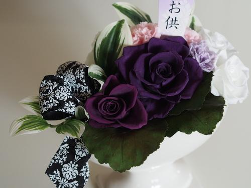 【仏花】優しい雰囲気に_d0144095_12581592.jpg
