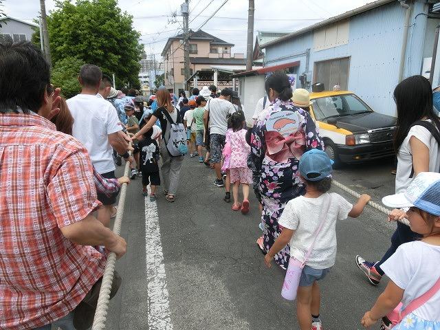 今年も参加させてもらった西仲町の山車の引き回し 吉原祇園祭2016_f0141310_657418.jpg