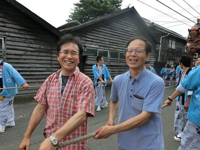 今年も参加させてもらった西仲町の山車の引き回し 吉原祇園祭2016_f0141310_6581925.jpg