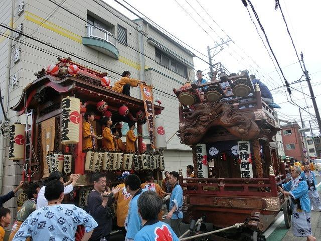 今年も参加させてもらった西仲町の山車の引き回し 吉原祇園祭2016_f0141310_6585060.jpg