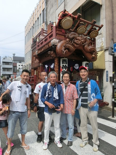 今年も参加させてもらった西仲町の山車の引き回し 吉原祇園祭2016_f0141310_6591162.jpg
