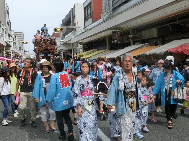 今年も参加させてもらった西仲町の山車の引き回し 吉原祇園祭2016_f0141310_6593247.jpg
