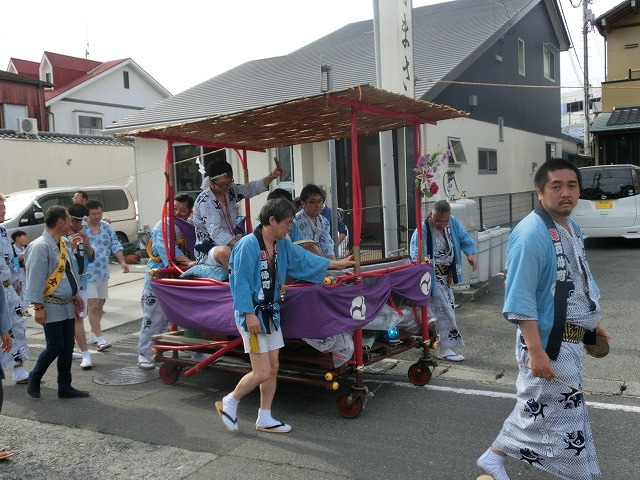 今年も参加させてもらった西仲町の山車の引き回し 吉原祇園祭2016_f0141310_6594348.jpg