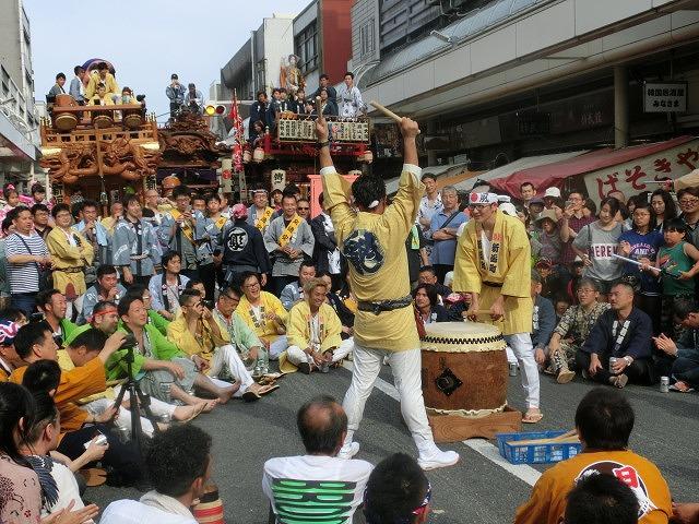 今年も参加させてもらった西仲町の山車の引き回し 吉原祇園祭2016_f0141310_6595453.jpg