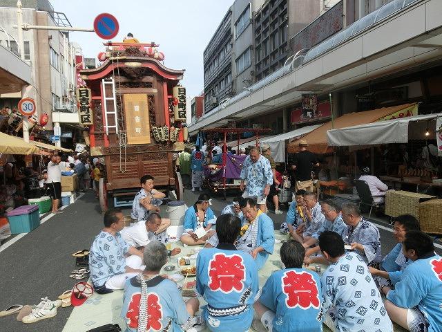 今年も参加させてもらった西仲町の山車の引き回し 吉原祇園祭2016_f0141310_701969.jpg