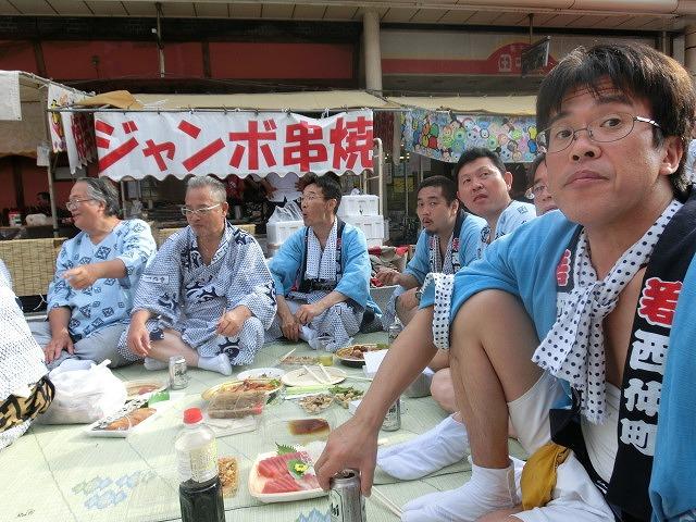 今年も参加させてもらった西仲町の山車の引き回し 吉原祇園祭2016_f0141310_703344.jpg