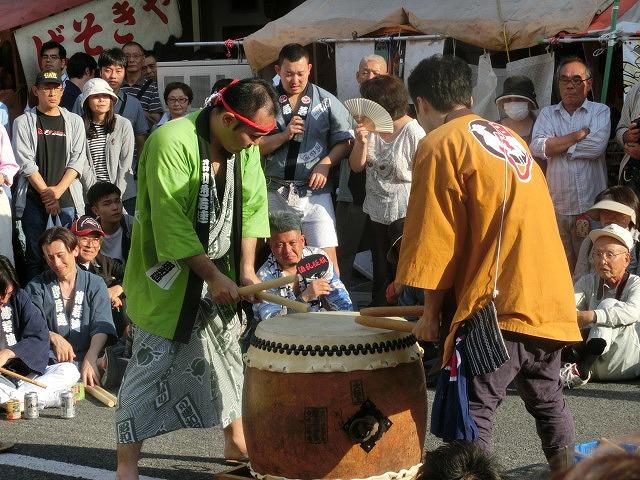 今年も参加させてもらった西仲町の山車の引き回し 吉原祇園祭2016_f0141310_70494.jpg