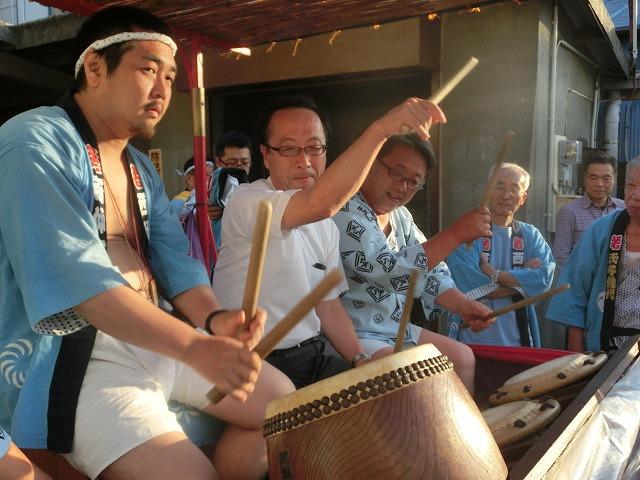今年も参加させてもらった西仲町の山車の引き回し 吉原祇園祭2016_f0141310_705949.jpg