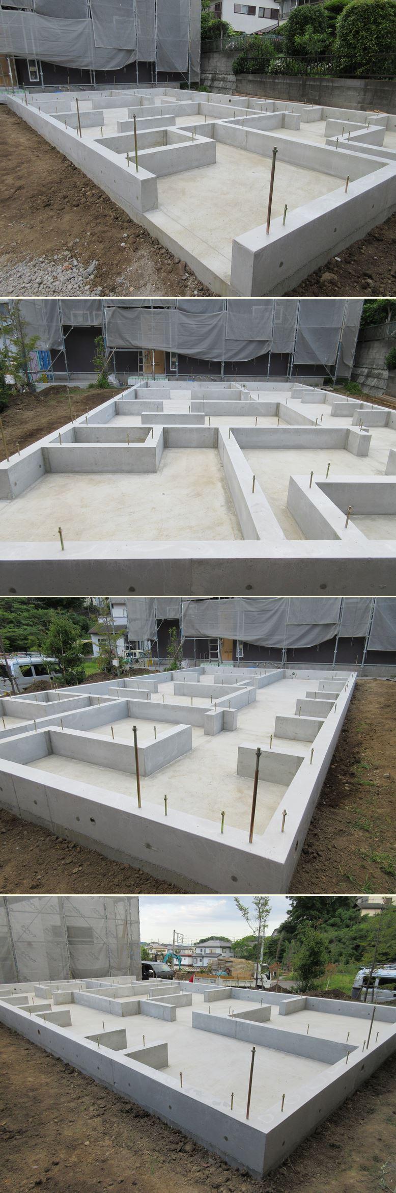 鎌倉の家☆基礎工事の流れ_c0152341_22553315.jpg