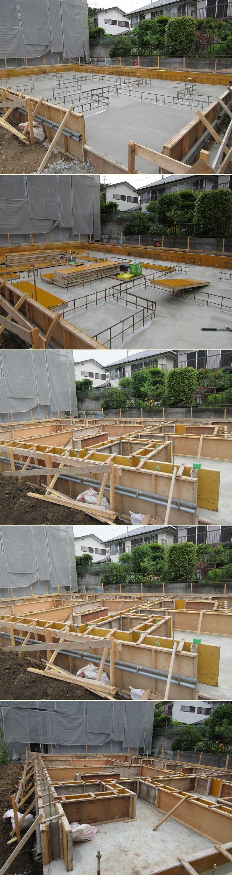 鎌倉の家☆基礎工事の流れ_c0152341_2255963.jpg