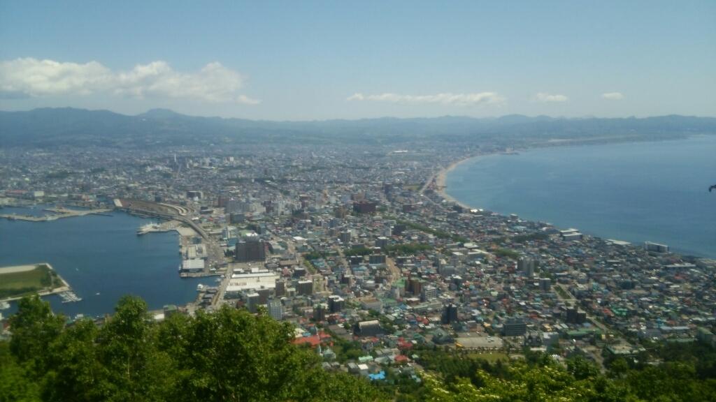 2016年6月13日㈪今朝の函館の気温と天気は。函館山ロープウェイに乗って、絶景をどうぞ_b0106766_06481872.jpg