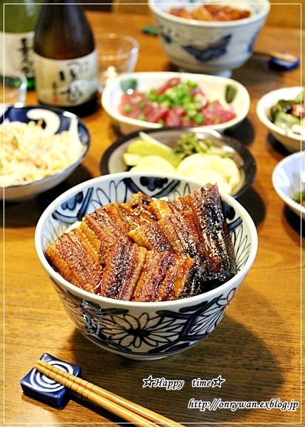 手作りバターロールでドッグパン弁当と鰻丼♪_f0348032_19240879.jpg