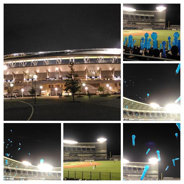 野球観戦の夜_c0190960_2225455.jpg
