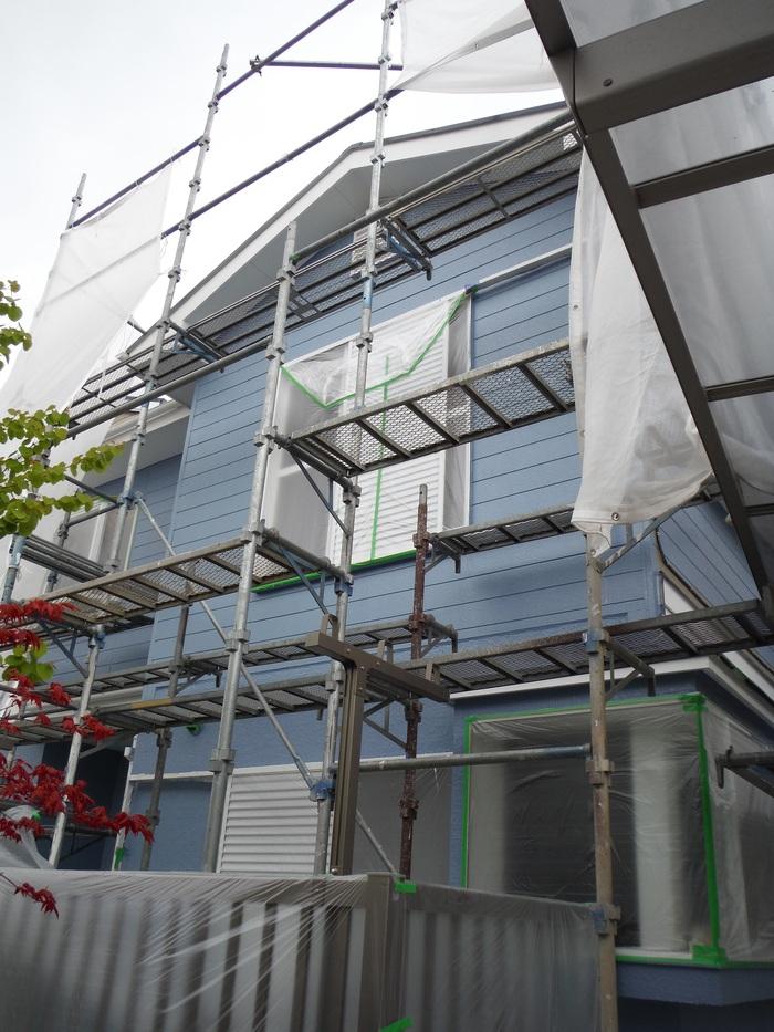 入居前リフォーム ~塗装と電気工事。_d0165368_322467.jpg
