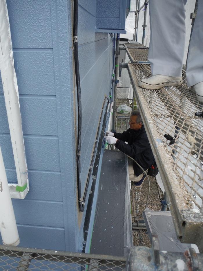 入居前リフォーム ~塗装と電気工事。_d0165368_323511.jpg
