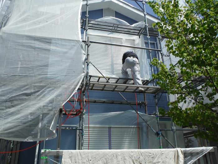 入居前リフォーム ~塗装と電気工事。_d0165368_3241442.jpg