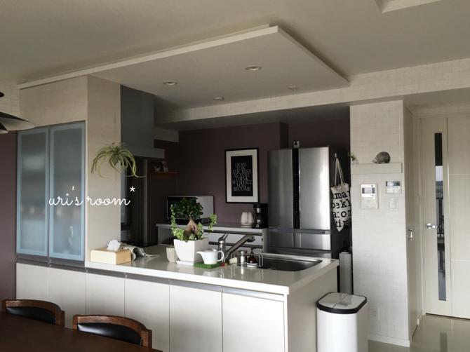 キッチンまたもや模様替え!新しいポスターを飾りました!_a0341288_01294070.jpg