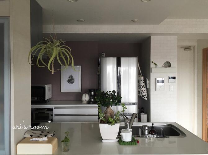 キッチンまたもや模様替え!新しいポスターを飾りました!_a0341288_01294106.jpg
