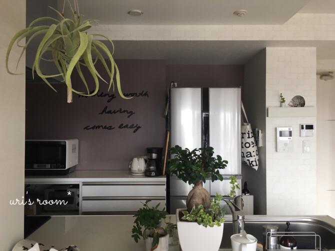 キッチンまたもや模様替え!新しいポスターを飾りました!_a0341288_01294133.jpg