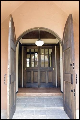 ** 今までの施工例 ドア シアワセノトビラアケテミマセンカ **_c0207890_13084326.jpg