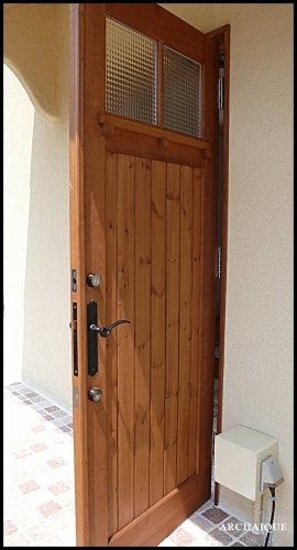** 今までの施工例 ドア シアワセノトビラアケテミマセンカ **_c0207890_13110910.jpg