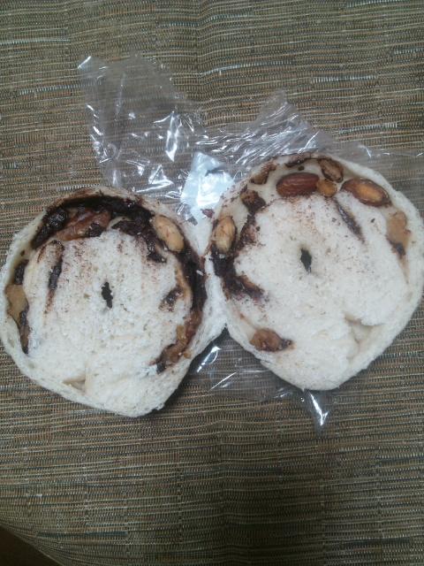 roll チョコナッツ(もっちり)_f0076001_2381112.jpg