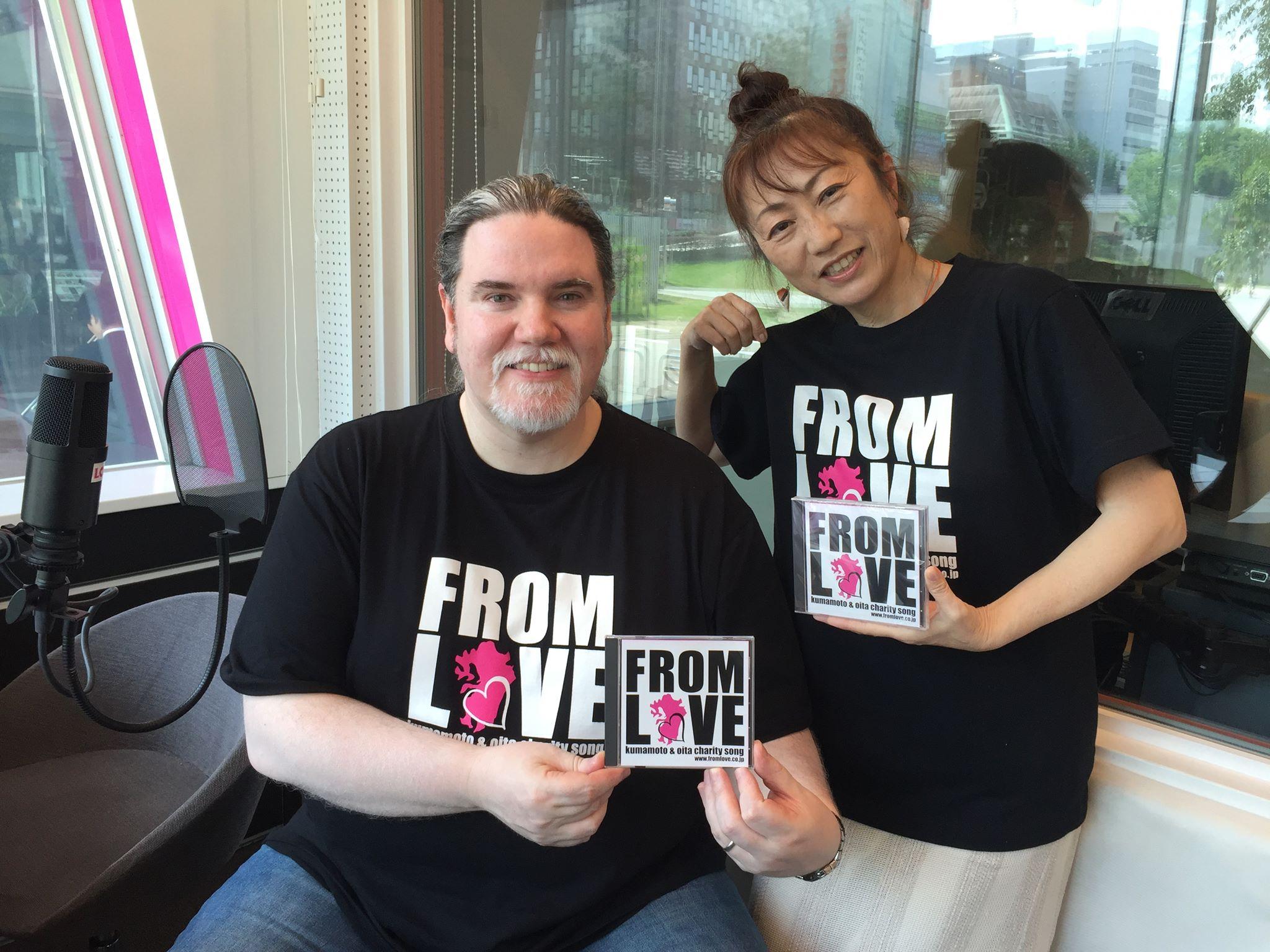 FROM LOVE 熊本大分を応援するチャリティーソング_a0150139_6504585.jpg