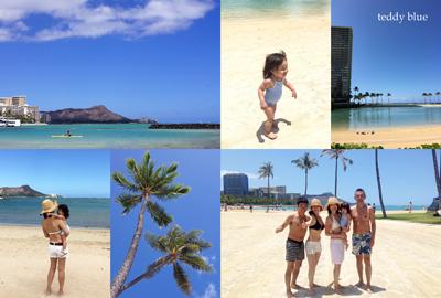 from Waikiki beach, Hawaii  ワイキキビーチ_e0253364_1401226.jpg