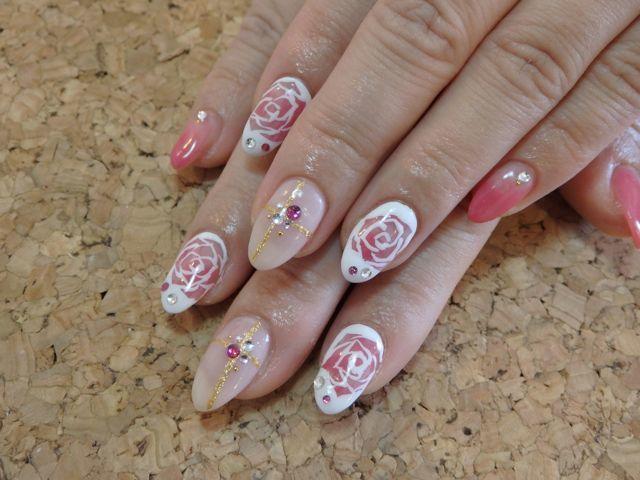 Rose Nail_a0239065_10025248.jpg