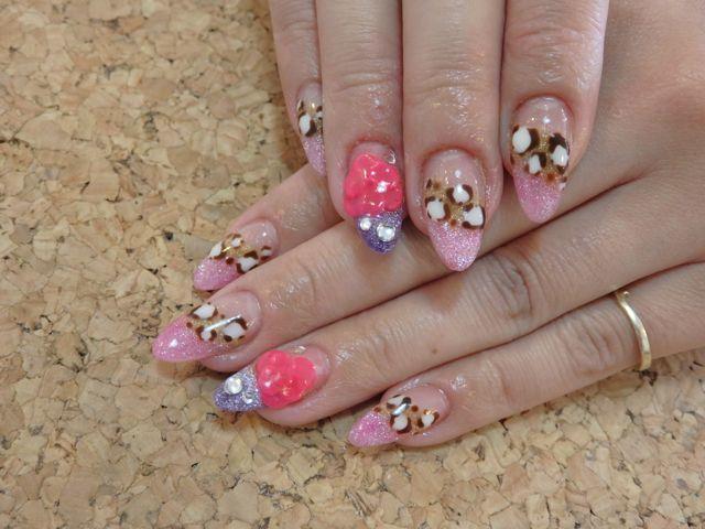 Leopard Nail_a0239065_10043832.jpg