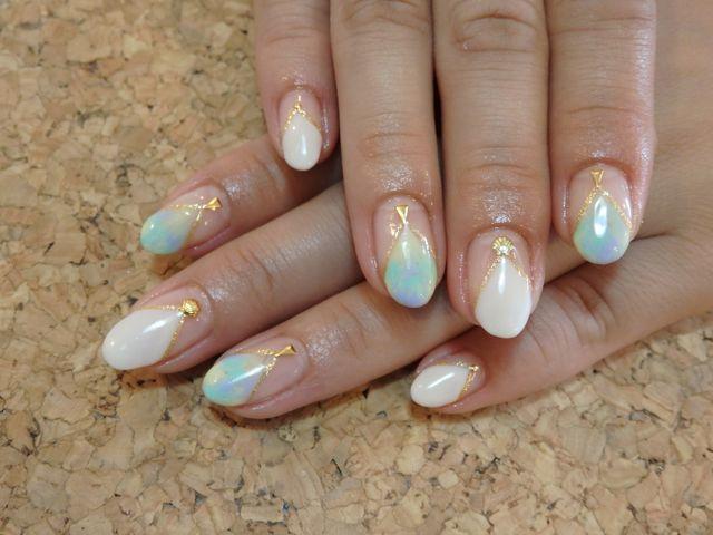 Marble Nail_a0239065_16022440.jpg