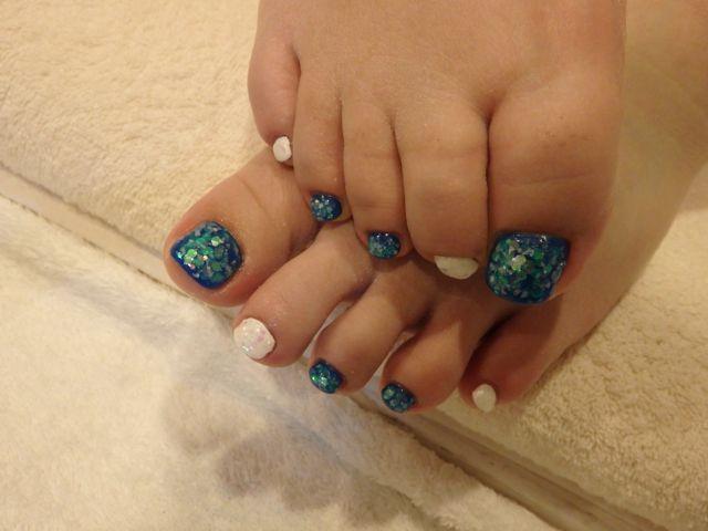 Bule Foot Nail _a0239065_16370904.jpg