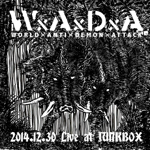 WxAxDxA / 2014.12.30 Live at JUNKBOX:500yen _a0092691_3235247.jpg