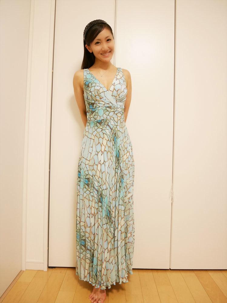 人魚のようなドレス、頂いちゃいました〜!_d0224894_22102349.jpg