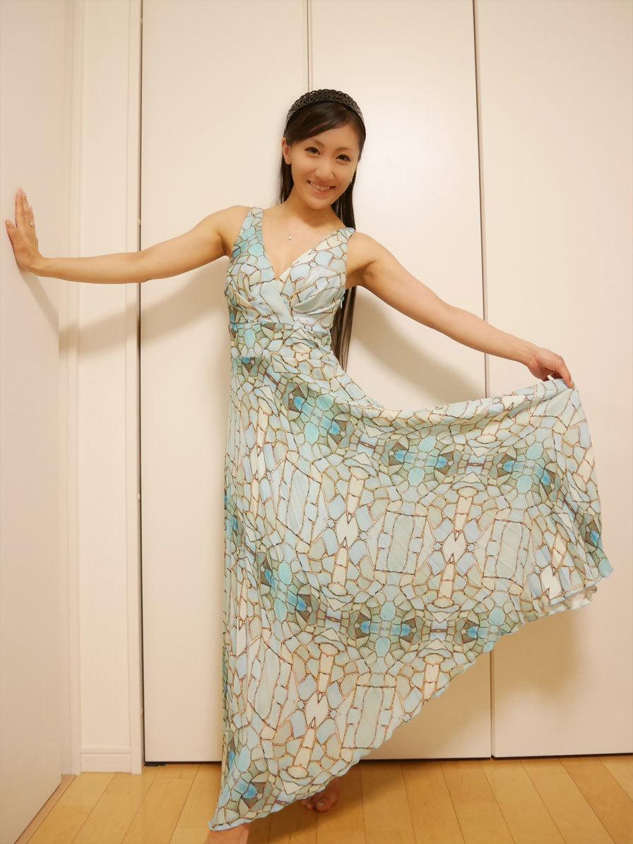 人魚のようなドレス、頂いちゃいました〜!_d0224894_22102439.jpg