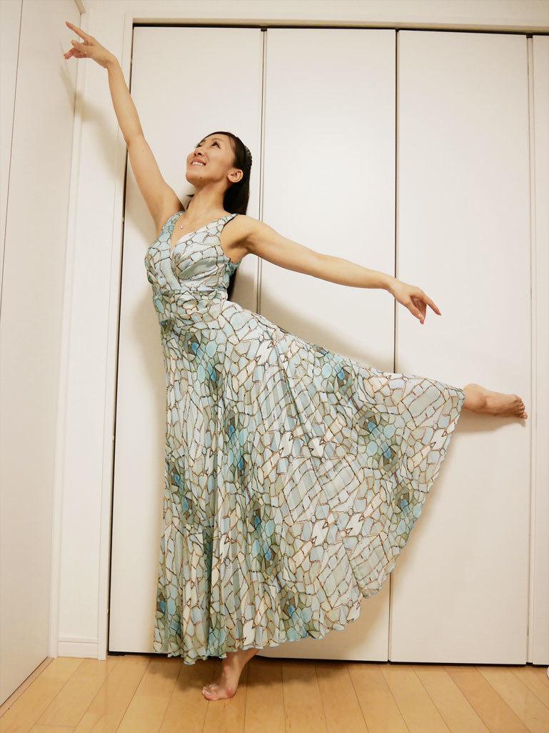 人魚のようなドレス、頂いちゃいました〜!_d0224894_22102561.jpg