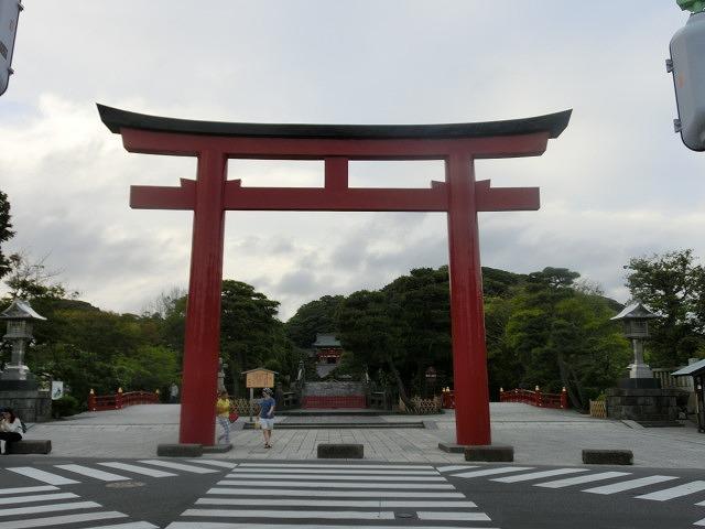 初めての鎌倉  鶴岡八幡宮の参道「若宮大路」とにぎわう「小町通り」_f0141310_762336.jpg