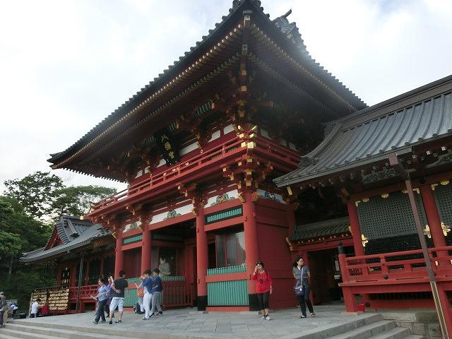 初めての鎌倉  鶴岡八幡宮の参道「若宮大路」とにぎわう「小町通り」_f0141310_765241.jpg