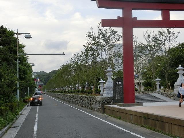 初めての鎌倉  鶴岡八幡宮の参道「若宮大路」とにぎわう「小町通り」_f0141310_79674.jpg