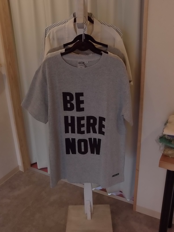 梅と「BE HERE NOW」_a0125419_20430066.jpg