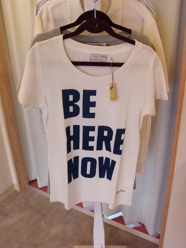 梅と「BE HERE NOW」_a0125419_20434037.jpg