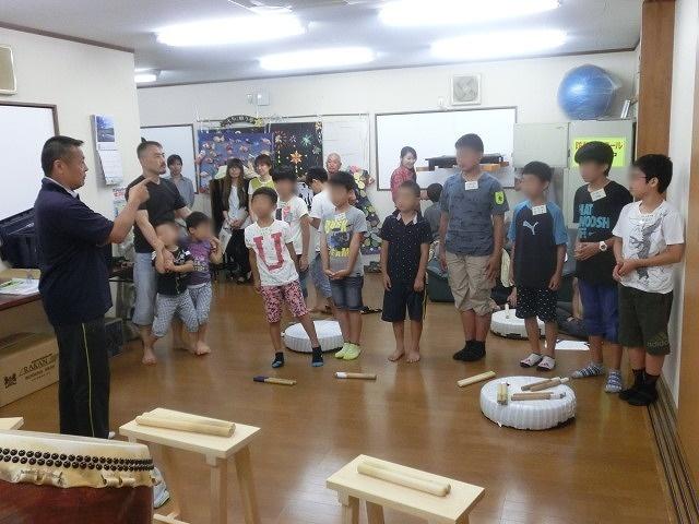7月の天王祭に向けて始まった駿河台三丁目の太鼓の練習_f0141310_7151633.jpg