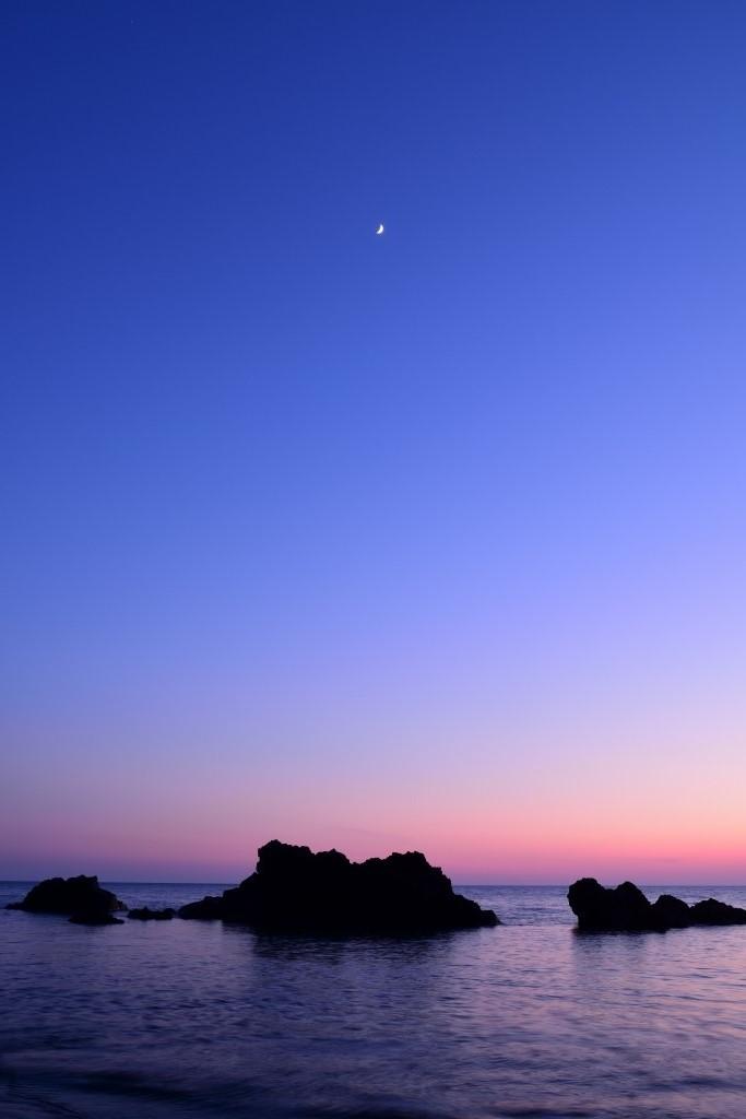 海上残月図_f0050534_09131957.jpg