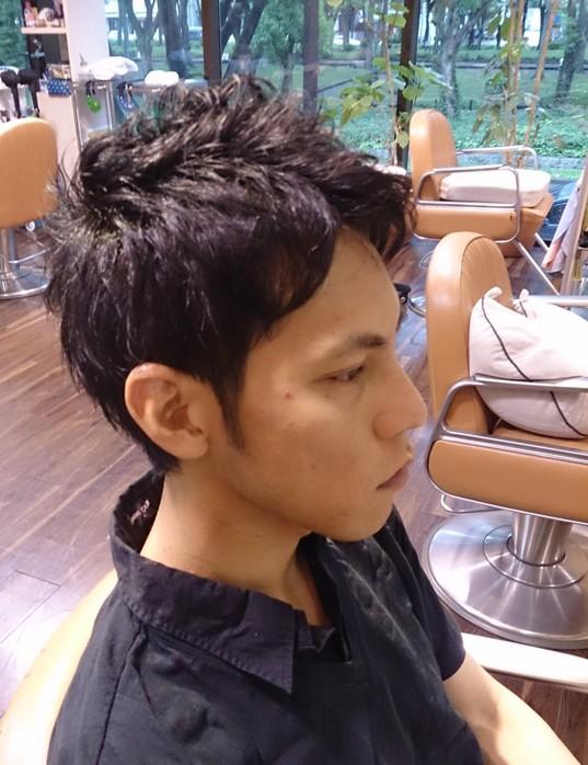 夏のメンズはやっぱ短髪がGOODです(笑)_a0272765_197391.jpg