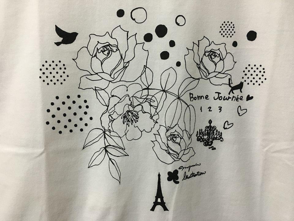 新作Tも!Bonweekend! Tシャツ&トートショウ@パルコブックセンター吉祥寺_f0172313_02124705.jpg