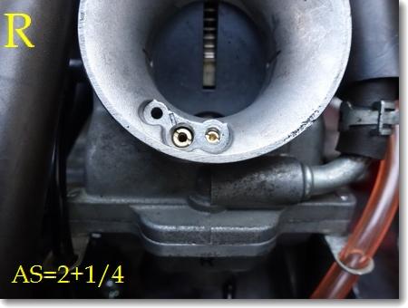 エアスクリュー調整、圧縮測定、チェーン清掃_c0147448_19244473.jpg