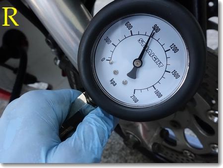 エアスクリュー調整、圧縮測定、チェーン清掃_c0147448_1927031.jpg