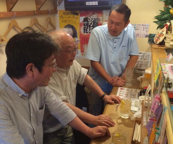 姫路で3時半から立ち飲み屋_e0054299_1326201.jpg