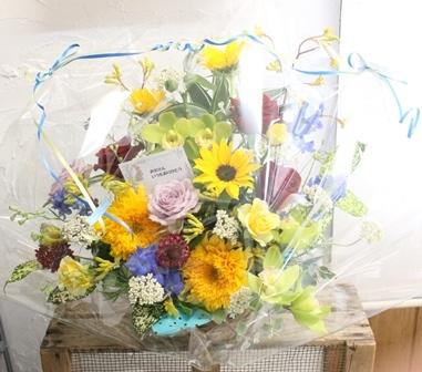 父の日 生花のプレゼント_d0227610_19302891.jpg